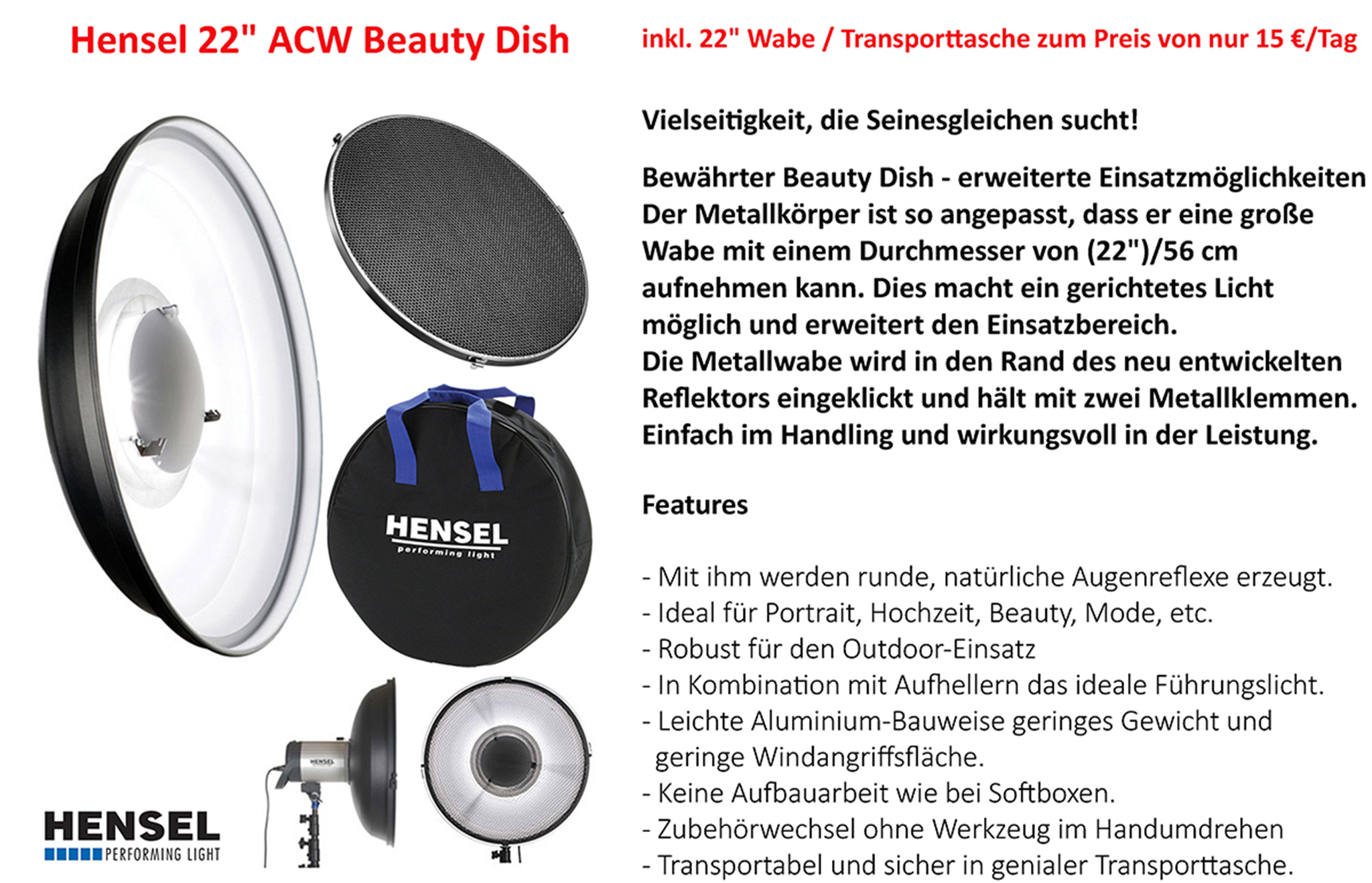 Hensel Beaty Dish