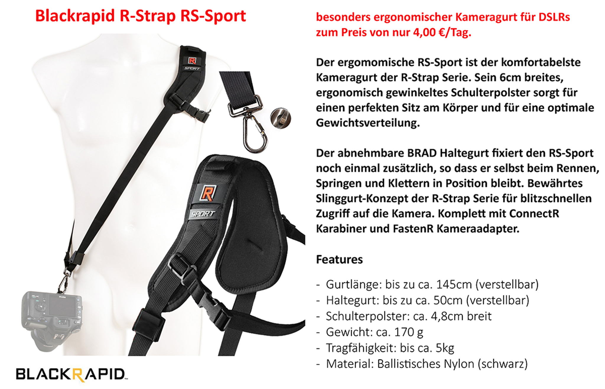 Blackrapid R-Strap RS-Sport