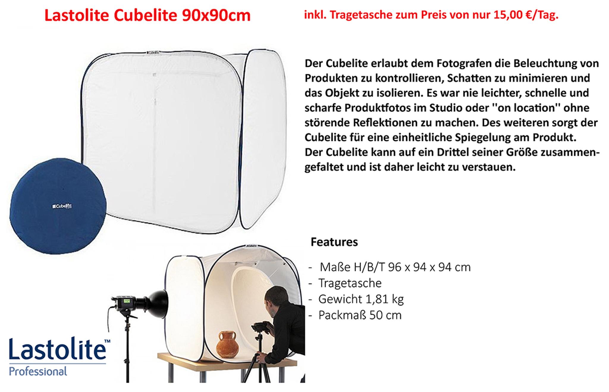 Lastolite CubeLite 90x90cm
