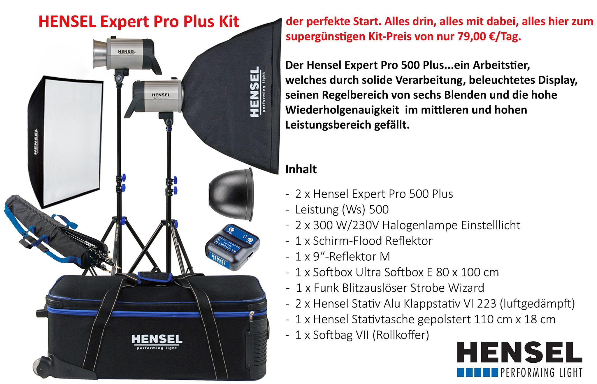 Verleih Expert Pro 500 Kit