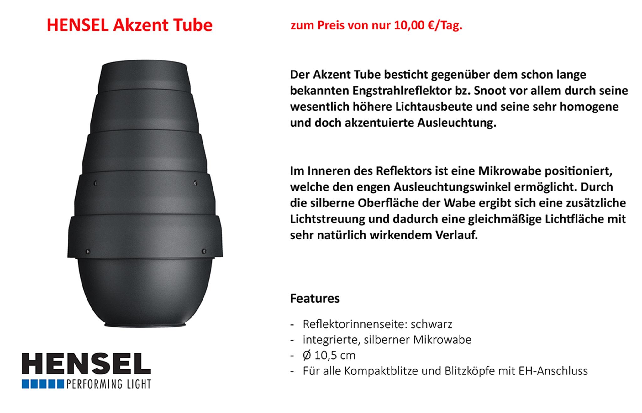 Hensel Akzent Tube
