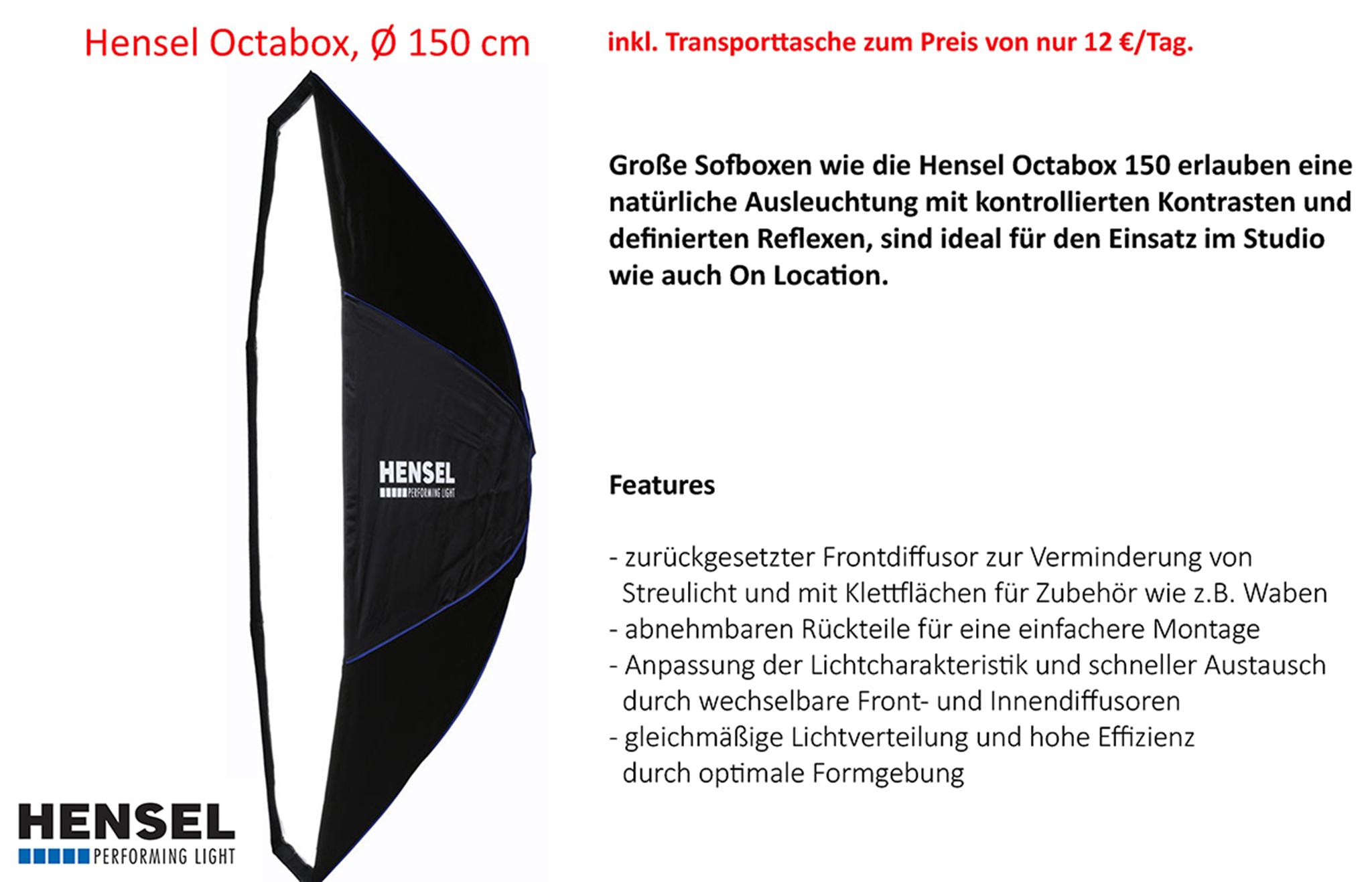 Hensel Octabox 150cm