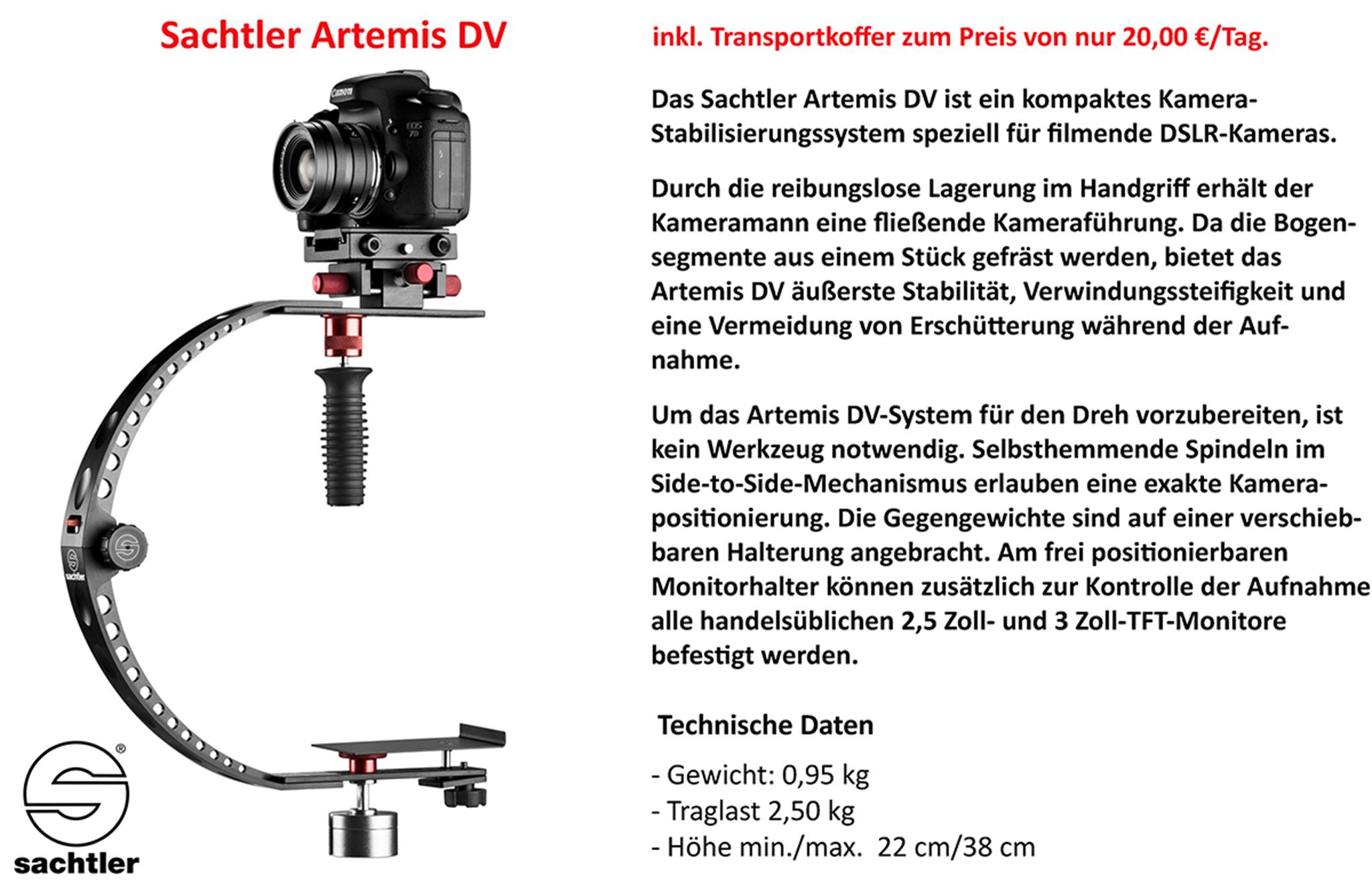 Sachtler Artemis DV