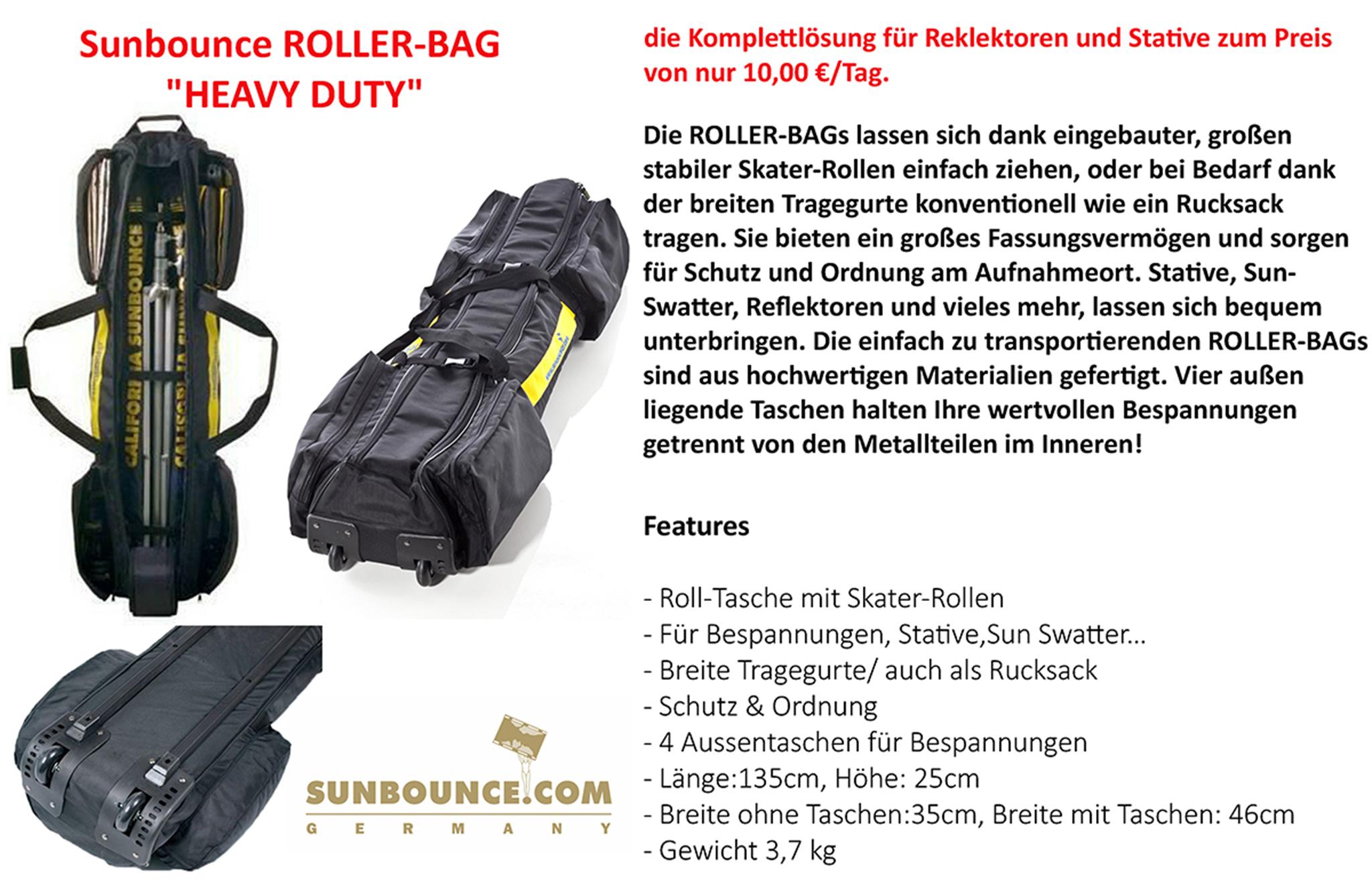 """VSunbounce Rollerbag """"Heavy Duty"""""""