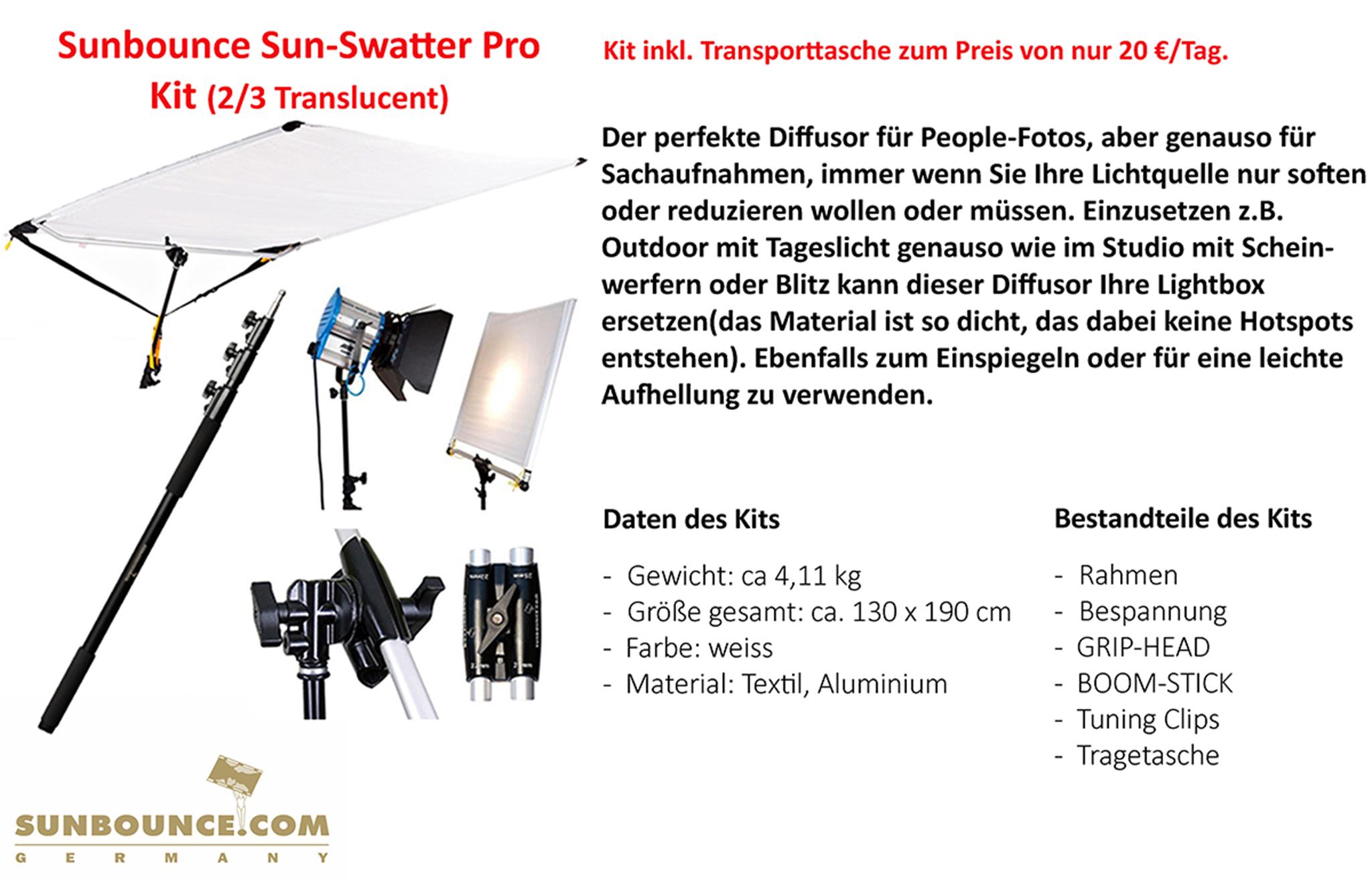 Sunbounce Sun-Swatter Pro