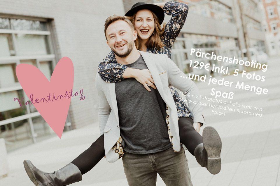 Rabattaktion zum Valentinstag