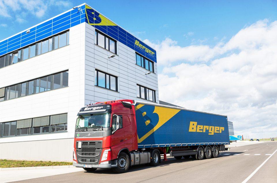 Shooting für Berger Logistics